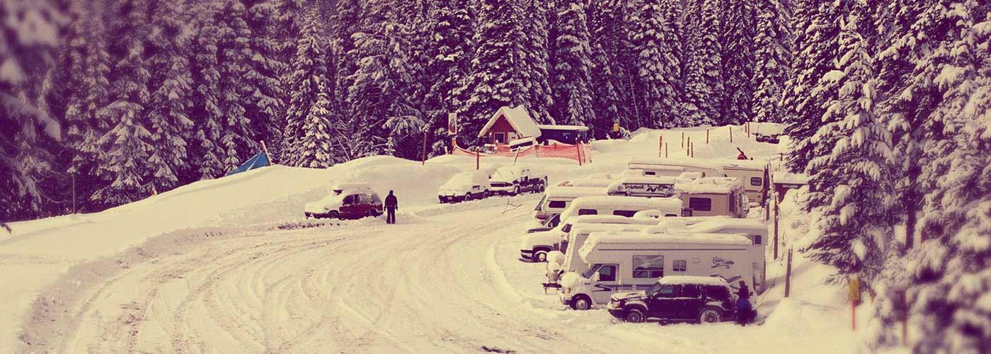 Winter Rving At Manning Park Resort