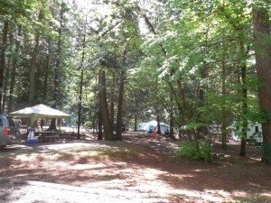 Coquihalla Campground caming in Hope